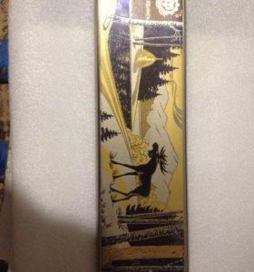 Златоустовская гравюра лось