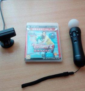 Камера + мув +игра для SONY PS 3