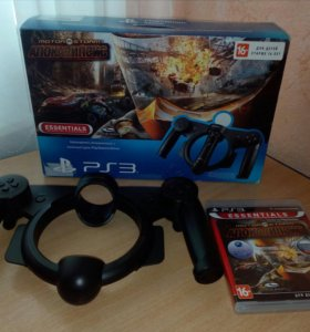 Игра +руль для SONY PS 3