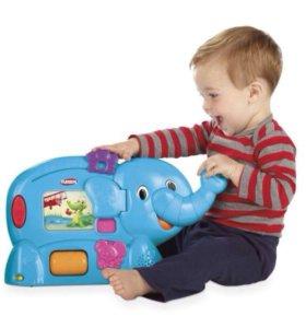 Обучающий интерактивный слон