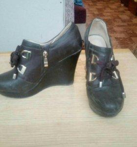 Туфли и бутельоны