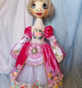 Дизайнерская кукла на заказ
