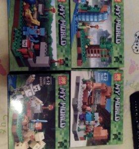 Lego minecraft майнкрафт новый