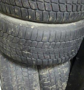Шины б/у 4шт. R19 255/50 Bridgestone Blizzak