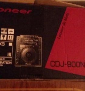 Pioneer CDJ-900 NXS НОВЫЕ