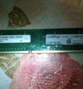 DDR3 4GB для ПК