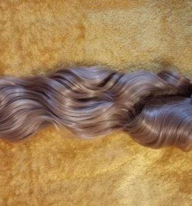 Набор искусственных прядей (волосы на заколках)
