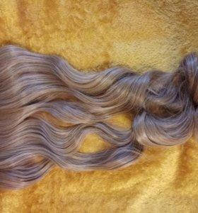 Искусственные волосы (прядь на заколках)