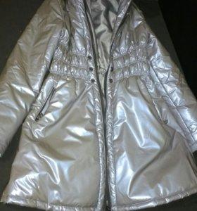 Пальто для девочки демисезон,до -5