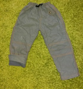 Детские утепленные брюки
