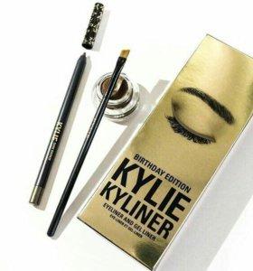 Карандаш+ гелевая подводка для глаз Kylie Birthday
