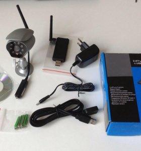 Wireless 2,4ггц камера видеонаблюдения