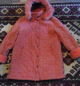 Куртка зимняя размер 50-52
