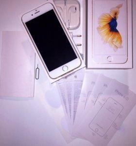 Новый iPhone 6s Gold