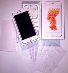 Новый iPhone 6s Rose