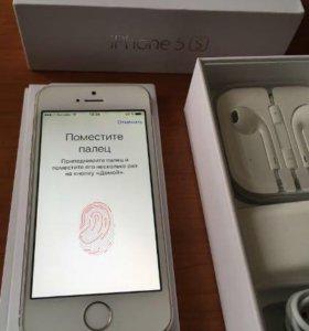 ⭐️ iPhone 5s 16GB Silver