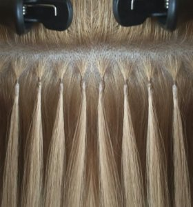 Наращивание волос капсулы,ленты