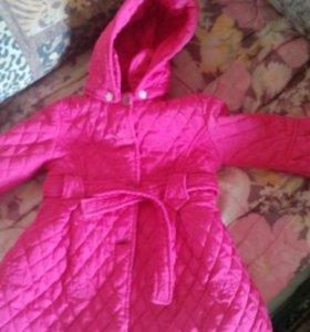 Куртка пальто осень весна детская