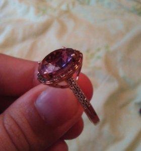 Серьги и кольцо))золото-бриллианты