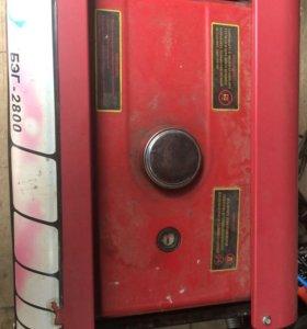 Однофазный бензиновый генератор БЭГ-2800