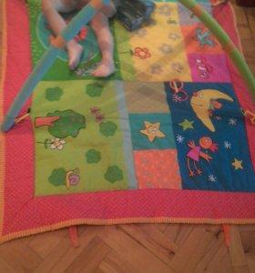 Детский игровой коврик сандали в подарок