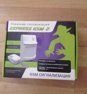 """Охранная сигнализация """"экспресс -GSM"""" версия 2"""