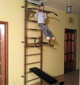 Шведские стенки для детей и взрослых