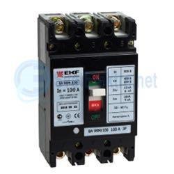 Выключатель автоматический 3п-ВА-99 100/100А 20 Ка