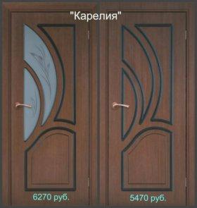Двери межкомнатные, металлические.