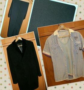 Брюки,рубашка,пальто