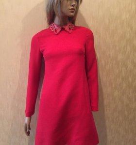Роскошное красное платье Valentino (оригинал)
