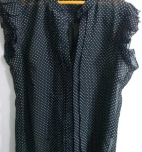 Блуза шифоновая, 46 размер, красивая