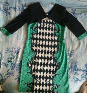 Платье размер 48-50 б.у