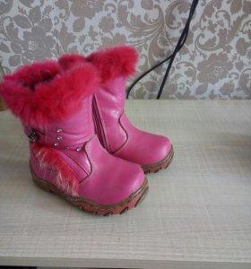Сапожки, обувь для девочки