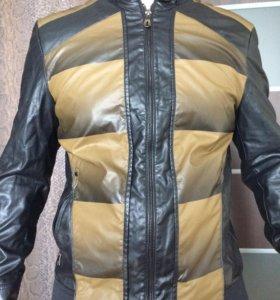 Новая кожаная куртка!!!