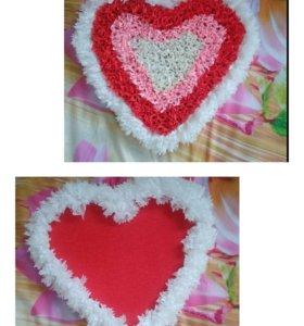 Сердце из гофрированной бумаги