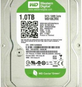 Жесткий диск wd10ezrx 1024 гб