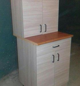 Кухонный гарнитур карамель