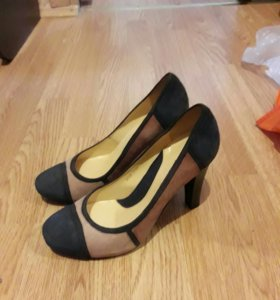 Туфли новые замша