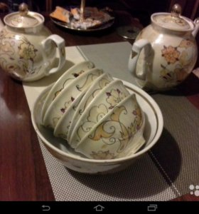 Набор посуды для чая.