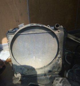 Радиатор мотор 3В