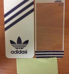 Пленка (наклейка) 2в1 iPhone 5, 5s SE
