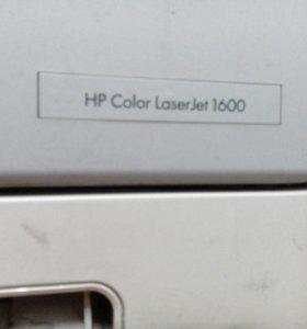 Принтер цветной HP color Laserjet 1600