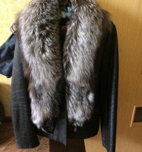 Куртка Нат кожа Нат.мех