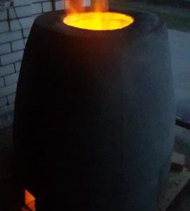 Тандыр универсальный(газ/дрова), переносной