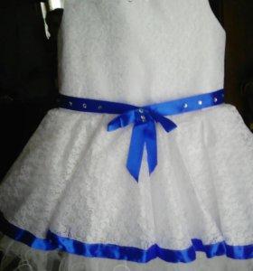 Платье для девочки на 4 года