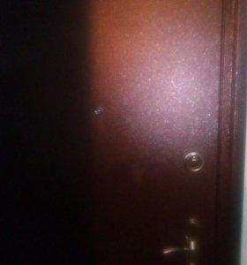 Установка сейф дверей.