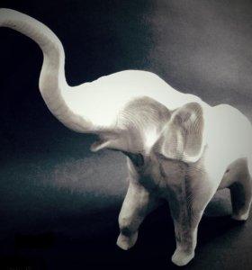 Слон - кашпо. фигуры, конфетницы и т.п.