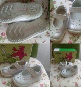 Детские туфли ecco для девочки