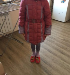 ДетскаЯ зимний пуховик